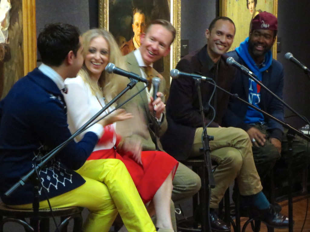 Eila Mell and Former Project Runway Contestants at National Arts Club_malindaknowlesnet