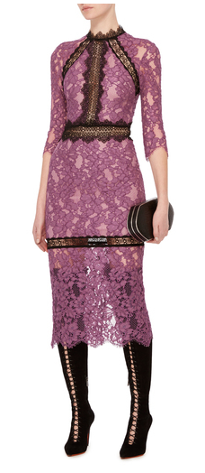 alexis orchid marisa midi dress